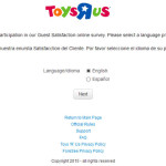 "Toys ""R"" Us Guest Satisfaction Survey"