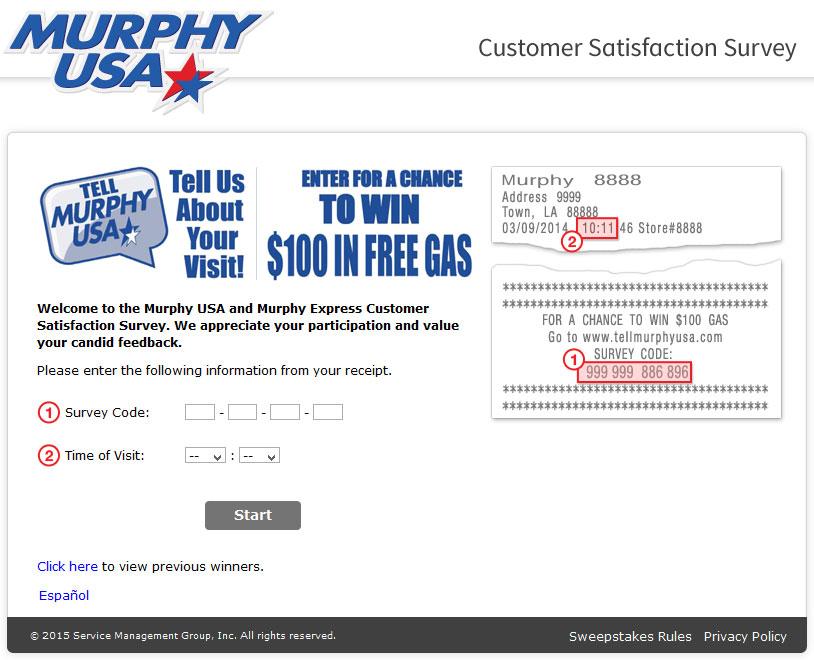 How do you obtain a Murphy USA gas card?