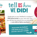 Bella Italia Customer Feedback Survey