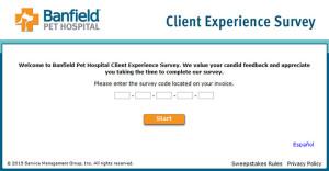 Banfield Pet Hospital Client Experience Survey