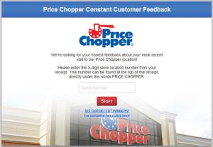 Price Chopper Constant Customer Feedback Survey