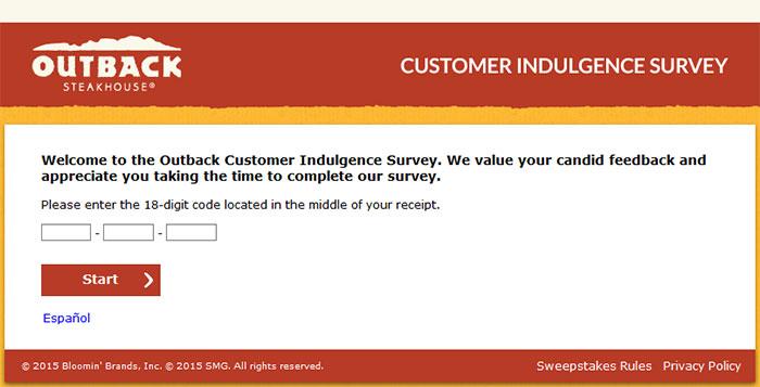 Outback-Customer-Indulgence-Survey