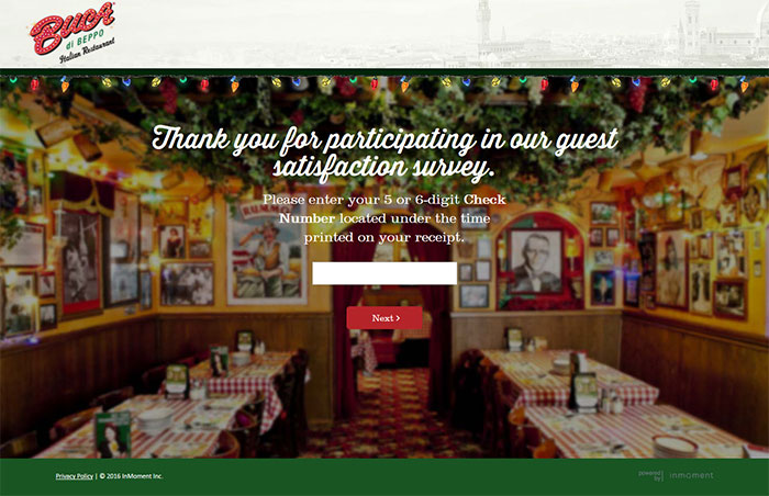 Buca-Di-Beppo-Guest-Satisfaction-Survey