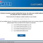 PetSmart Grooming Customer Satisfaction Survey
