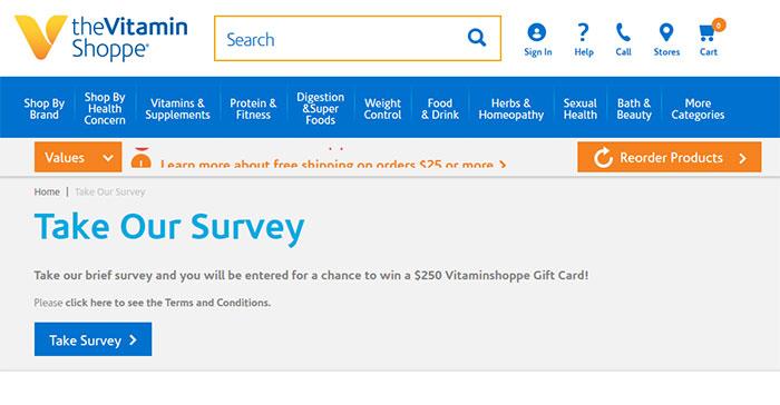 Vitamin-Shoppe-Customer-Satisfaction-Survey