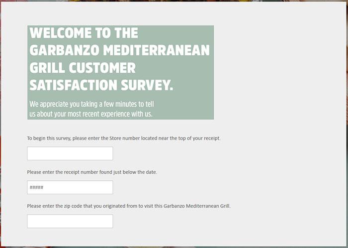 Garbanzo-Mediterranean-Grill-Customer-Satisfaction-Survey