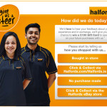 Halfords Customer Experience Survey