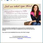 La-Z-Boy Store Guest Satisfaction Survey
