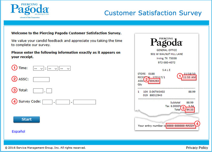 Piercing-Pagoda-Customer-Satisfaction-Survey