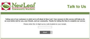 New-Leaf-Customer-Satisfaction-Survey