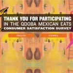 Qdoba Mexican Eats Customer Satisfaction Survey