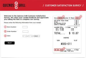 Quiznos-Grill-Customer-Satisfaction-Survey