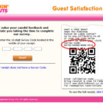 Dunkin' Donuts UK Guest Satisfaction Survey