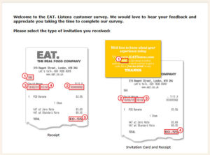 EAT. Listens Customer Survey
