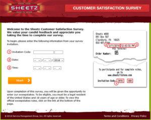 Sheetz Customer Satisfaction Survey