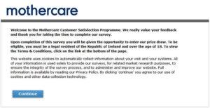 Mothercare Customer Satisfaction Survey