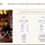 White Spot Guest Feedback Survey