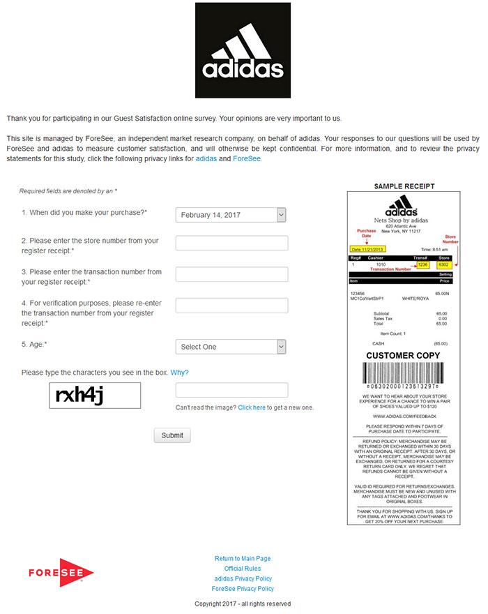 adidas-survey
