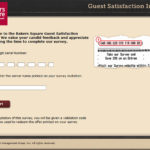 Bakers Square Guest Satisfaction Survey