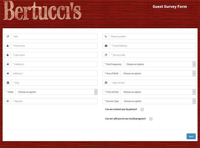 Bertucci's-Guest-Survey