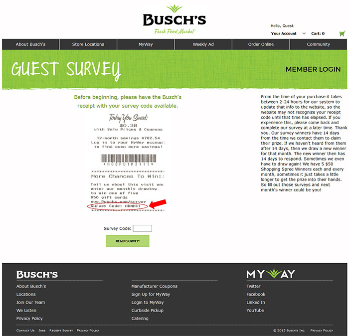 Busch's-Guest-Feedback-Survey