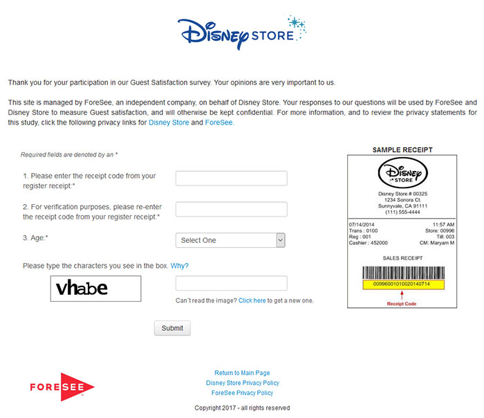 Disney-Store-Survey