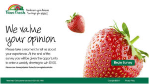 Farm Fresh Food Customer Satisfaction Survey