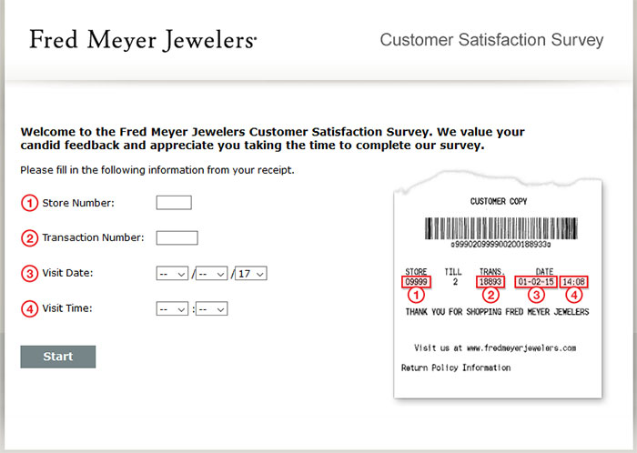 Fred Meyer Jewelers Customer Satisfaction Survey Www Fmjfeedback Com