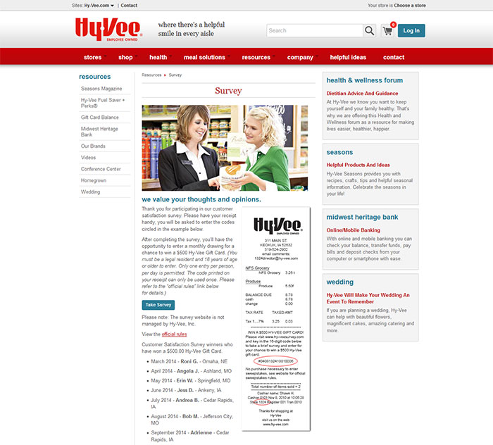 Hy-Vee-Customer-Experience-Survey