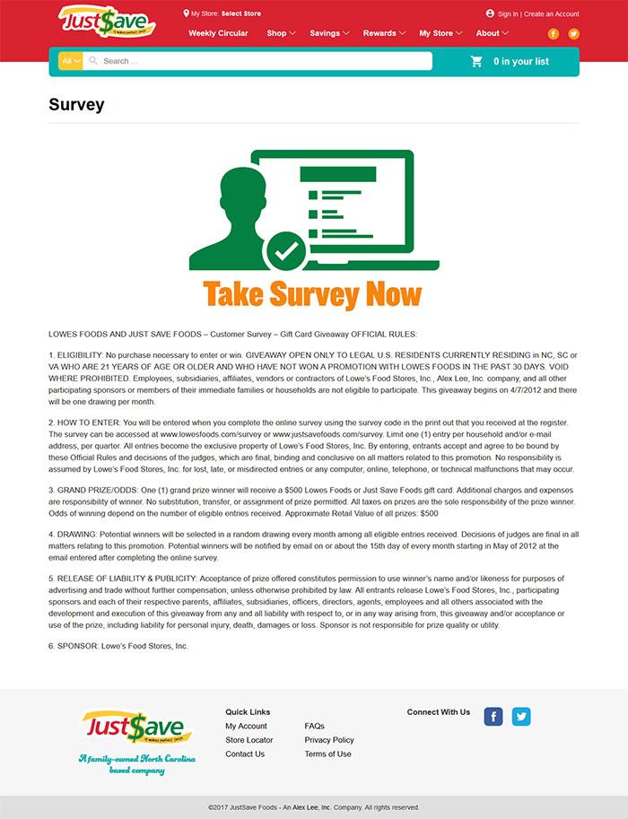 JustSave-Foods-Survey