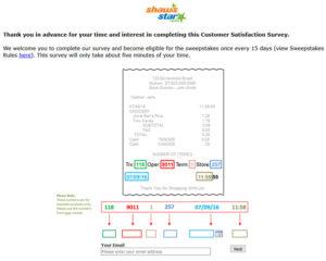 Shaws Customer Satisfaction Survey