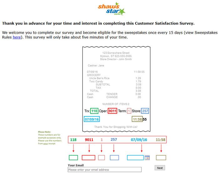 Shaws-Customer-Satisfaction-Survey