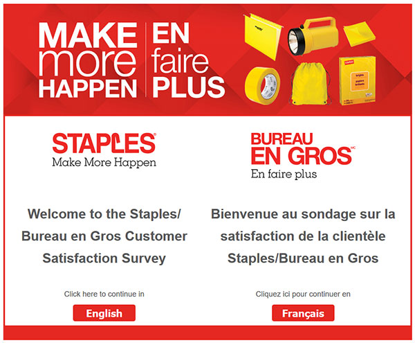staples bureau en gros customer