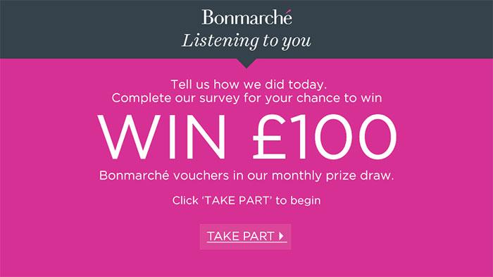 Bonmarche-Survey