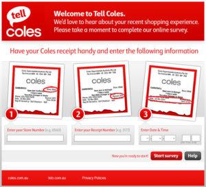 Coles Supermarkets Customer Satisfaction Survey