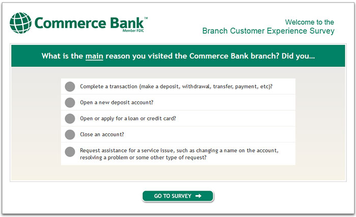 Commerce-Bank-Branch-Customer-Experience-Survey