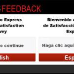 Express Customer Satisfaction Survey