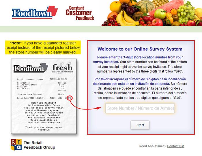 Foodtown-Customer-Feedback-Survey