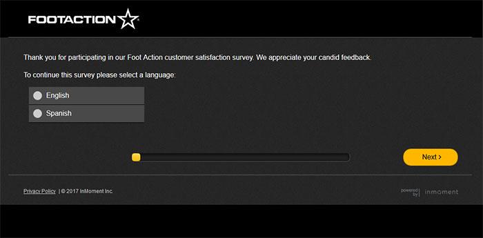 Foot-Action-Customer-Satisfaction-Survey