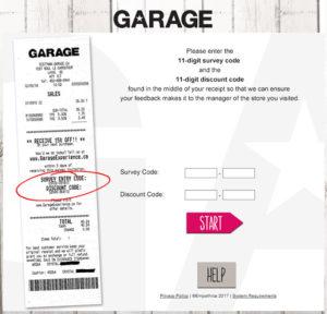 Garage Customer Experience Survey