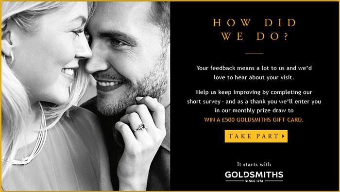 Goldsmiths-Customer-Feedback-Survey