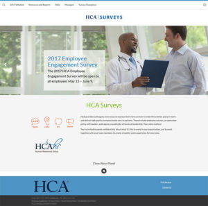 HCA Healthcare Employee Engagement Survey