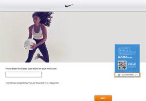 Nike UK Consumer Feedback Survey