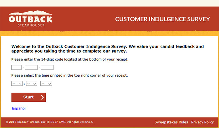 Outback-Customer-Satisfaction-Survey