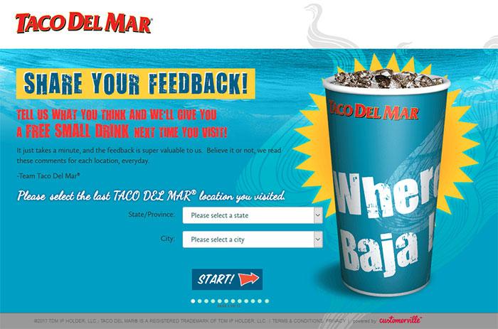 Taco-Del-Mar-Guest-Survey