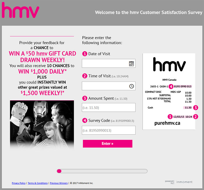 hmv-Customer-Satisfaction-Survey