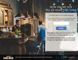 Caffé Nero Customer Satisfaction Survey