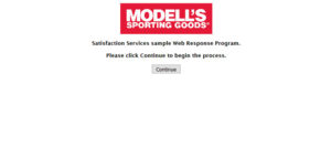 Modell's Sporting Goods Customer Satisfaction Survey