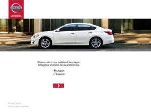 Nissan Owner First Sales Survey
