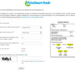 PriceSmart foods Customer Satisfaction Survey